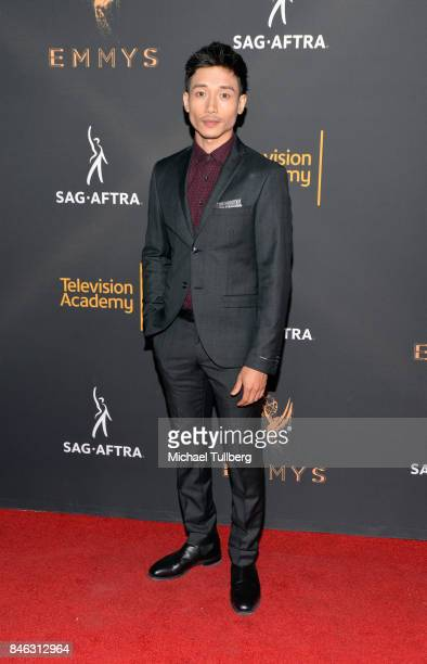Manny Jacinto attends the Television Academy and SAGAFTRA's 5th annual Dynamic and Diverse Celebration at Saban Media Center on September 12 2017 in...