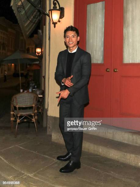Manny Jacinto is seen on May 04 2018 in Los Angeles California