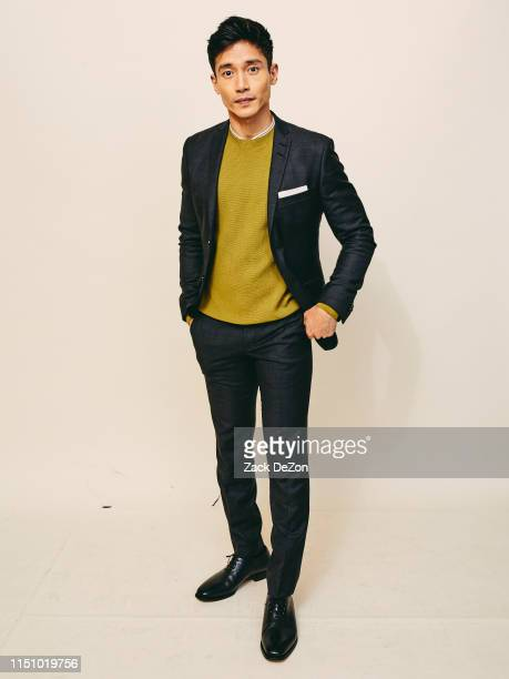 Manny Jacinto of The Good Place poses for a portrait during The 78th Annual Peabody Awards Ceremony on May 18 2019 in New York City