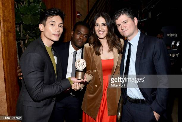 Manny Jacinto William Jackson Harper D'Arcy Carden and Michael Schur attend the afterparty of 78th Annual Peabody Awards Ceremony Sponsored By...