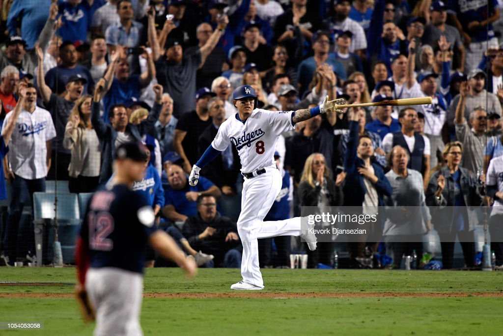 World Series - Boston Red Sox v Los Angeles Dodgers - Game Three : News Photo