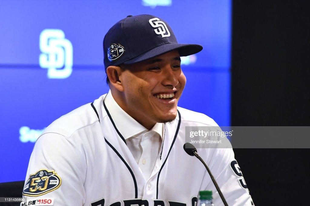 San Diego Padres Introduce Manny Machado : News Photo