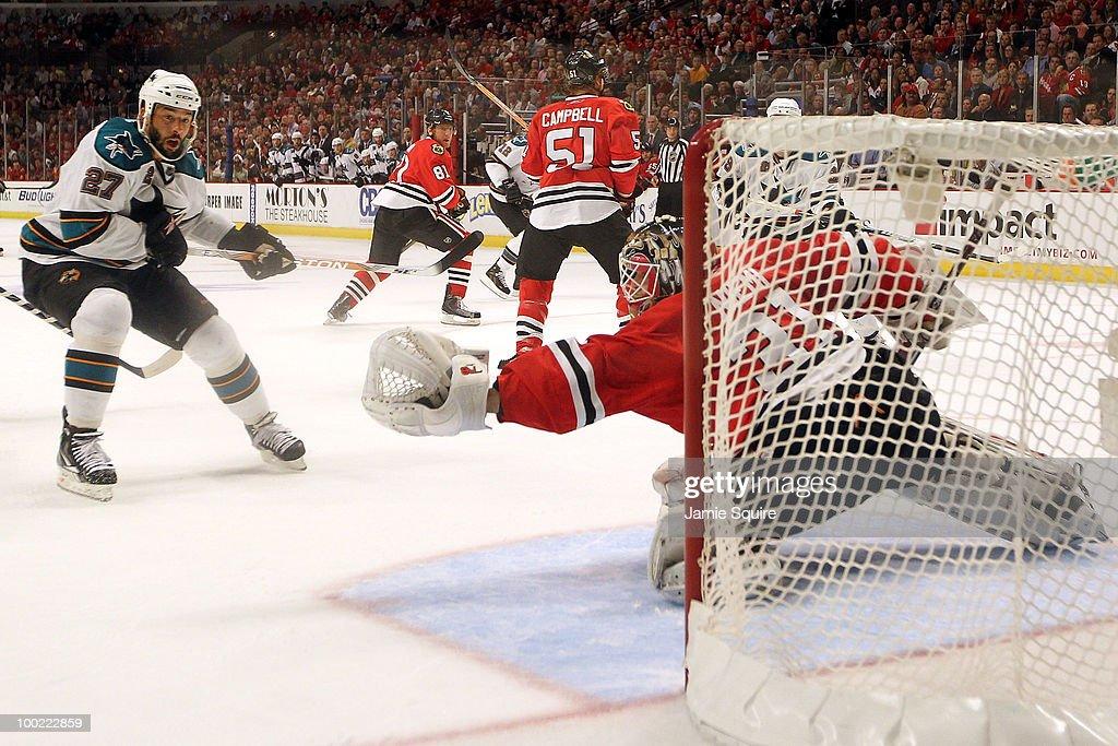 San Jose Sharks v Chicago Blackhawks - Game Three