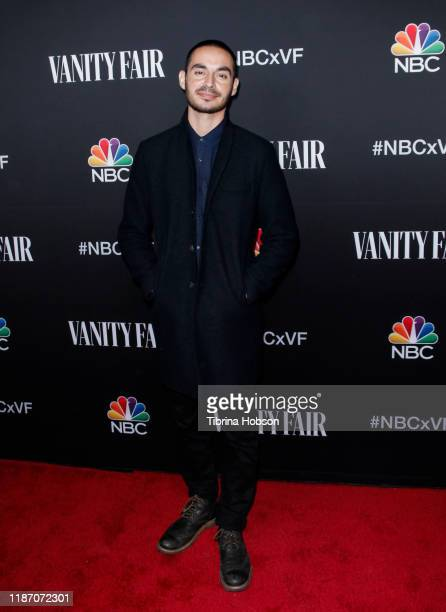 Manny Montana attends NBC and Vanity Fair's celebration of the season at The Henry on November 11 2019 in Los Angeles California