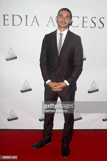 Manny Montana attends the Media Access Awards at Four Seasons Hotel Los Angeles at Beverly Hills on October 22 2015 in Los Angeles California