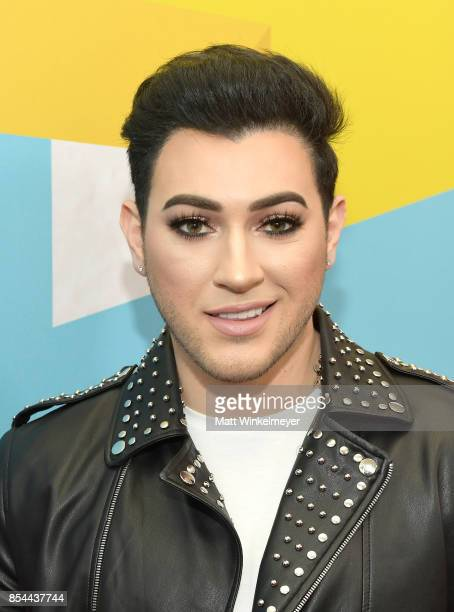 Manny Mua at the 2017 Streamy Awards at The Beverly Hilton Hotel on September 26 2017 in Beverly Hills California