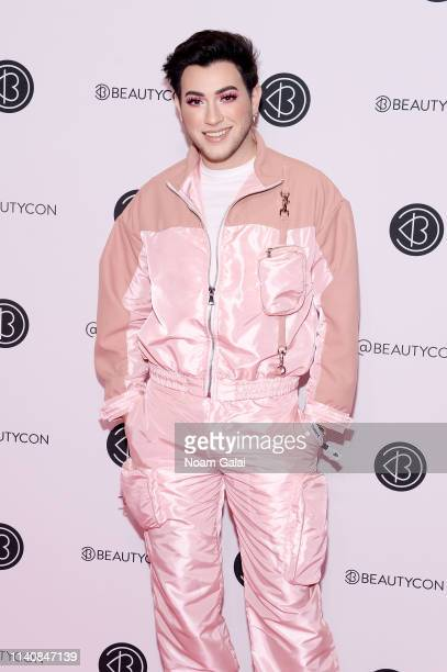 Manny MUA attends Beautycon Festival New York 2019 at Jacob Javits Center on April 06 2019 in New York City