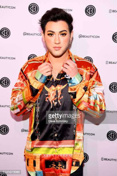Manny MUA attends Beautycon Festival New York 2019 at Jacob Javits Center on April 07 2019 in New York City