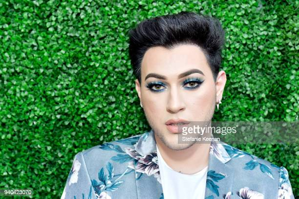 Manny MUA attends KKWxMario Dinner at JeanGeorges Beverly Hills on March 31 2018 in Beverly Hills California