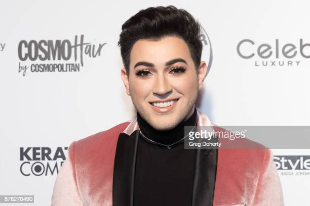 Manny MUA attends the American Influencer Award at The Novo by Microsoft on November 18 2017 in Los Angeles California