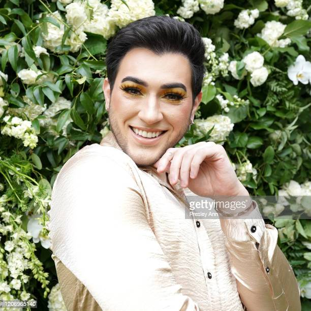Manny MUA attends Wishful Skin by Huda Kattan Launch Event on February 17 2020 in Hollywood California