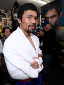 hollywood california manny pacquiao after his