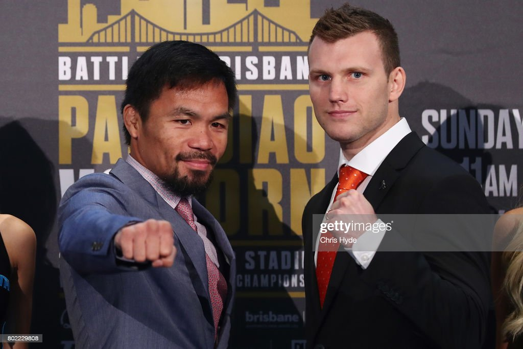 Manny Pacquiao & Jeff Horn Press Conference