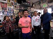 hollywood california manny pacquiao arrives for