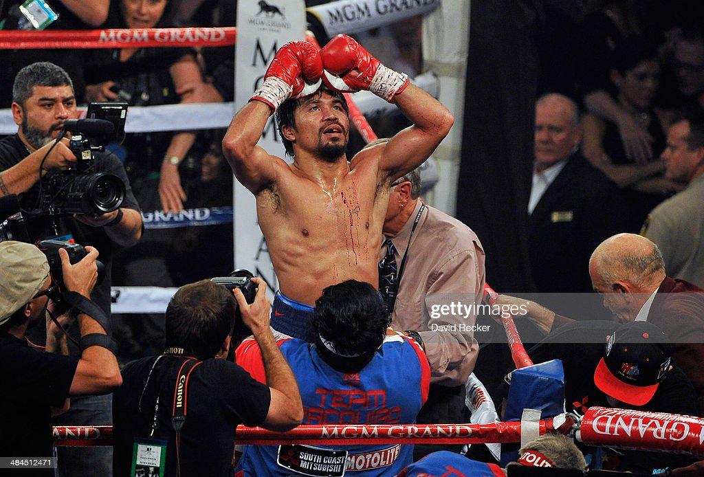 Manny Pacquiao v Timothy Bradley : News Photo
