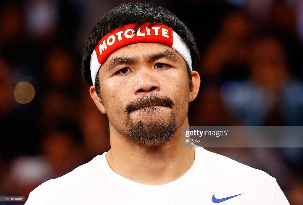 Floyd Mayweather Jr. v Manny Pacquiao : News Photo