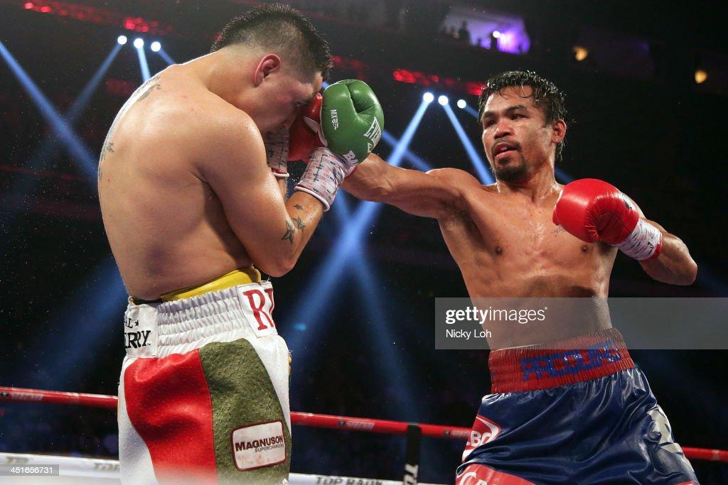 Manny Pacquaio v Brandon Rios - The Clash In Cotai : News Photo