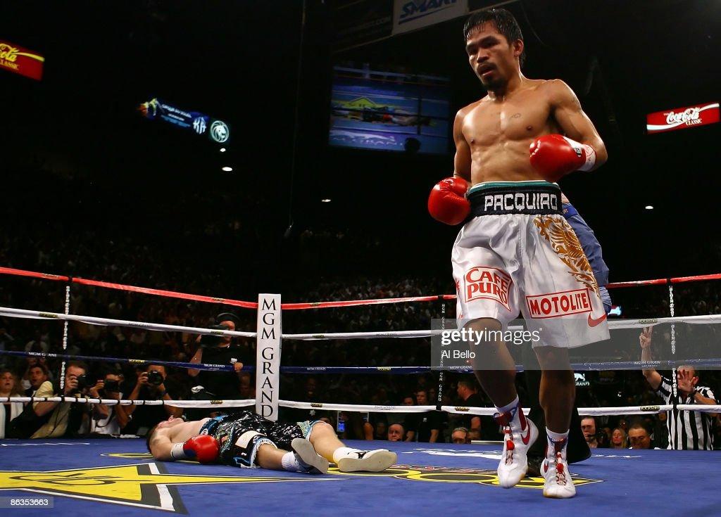 Manny Pacquiao v Ricky Hatton : News Photo