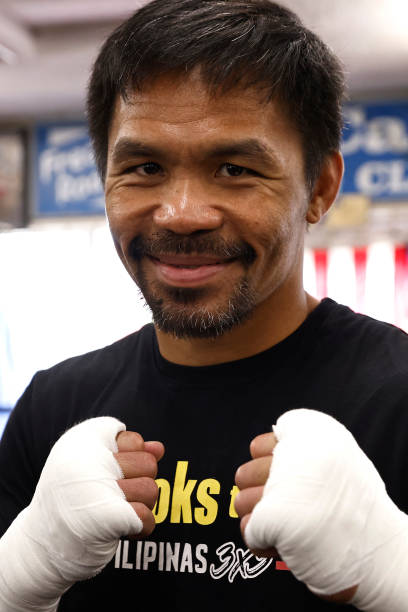 CA: Manny Pacquiao Training Session
