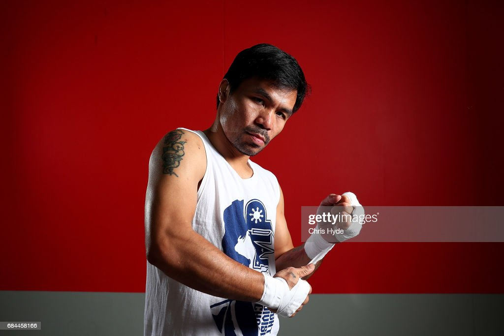 Manny Pacquiao Prepares For Fight Against Jeff Horn