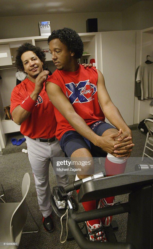 Red Sox v Giants : News Photo