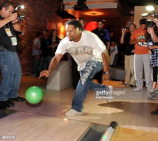 Manny Ramirez attends the 5th annual state farm Dodgers Dream Foundation bowling extravaganza at Lucky Strike Lanes on July 23 2009 in Los Angeles...