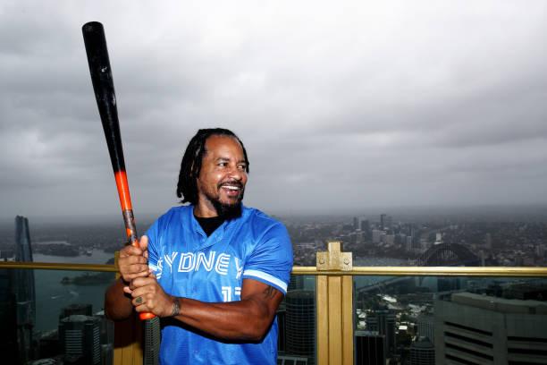 AUS: Manny Ramirez Sydney Blue Sox Media Opportunity