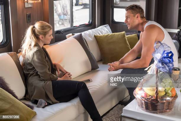 US 'A MannySplendored Thing' Episode 202 Pictured Alexandra Breckinridge as Sophie Justin Hartley as Kevin