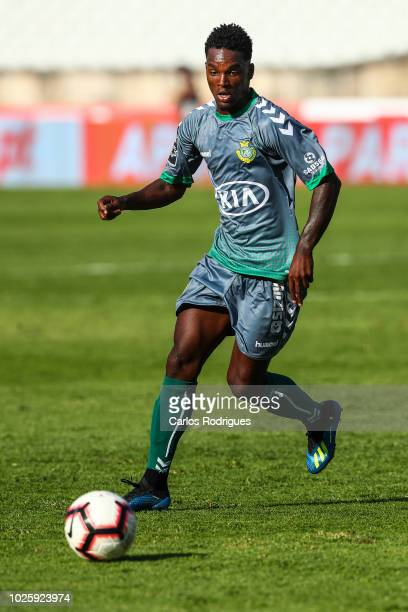 Mano of Vitoria FC during the Liga NOS match between Belenenses SAD and Vitoria FC at Jamor Stadium on September 1 2018 in Lisbon Portugal