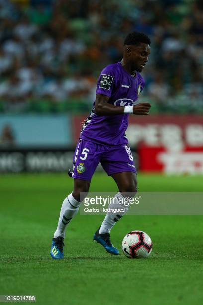 Mano of Vitoria FC during the Liga NOS match between Sporting CP and Vitoria FC at Estadio Jose Alvalade on August 18 2018 in Lisbon Portugal