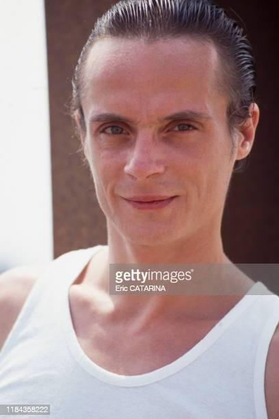 Mano Solo lors du festival des Francofolies de La Rochelle en juillet 1994 France