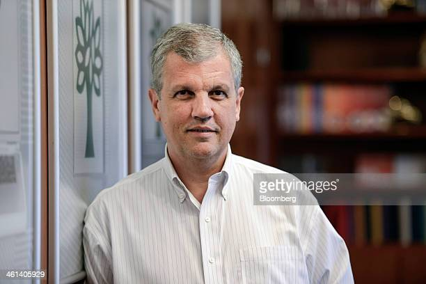 Manoel Amorim chief executive officer of Abril Educacao SA stands for a photograph during an interview in Sao Paulo Brazil on Wednesday Jan 8 2013...