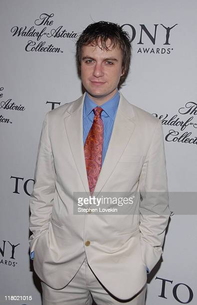 Manoel Felciano during 60th Annual Tony Awards Cocktail Celebration at The Waldorf Astoria in New York City New York United States