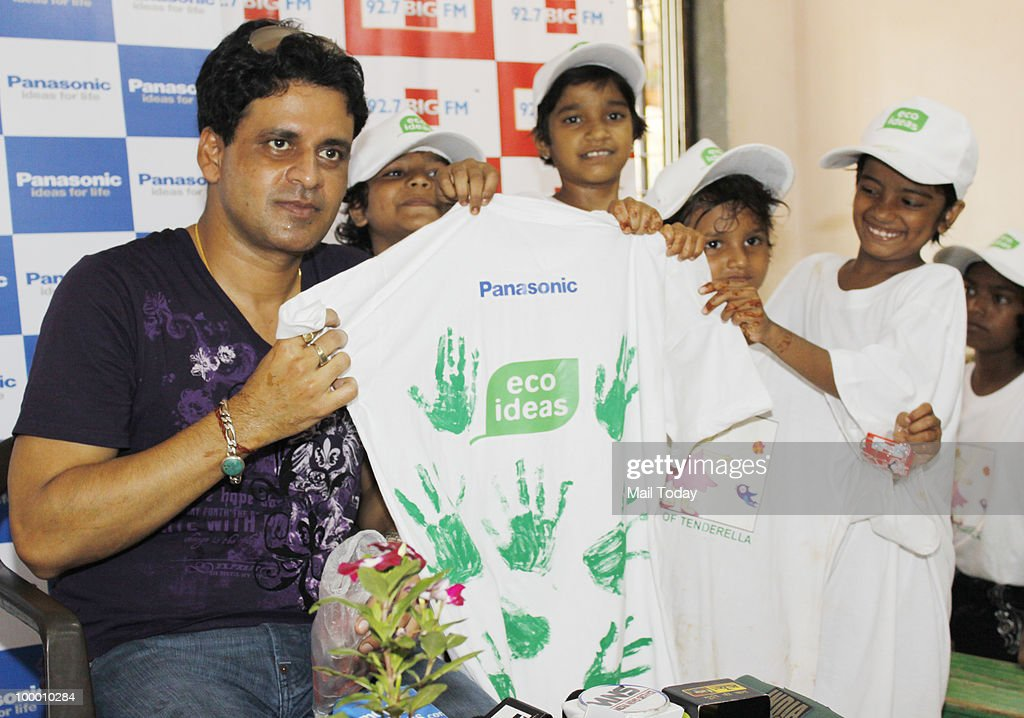 Manoj Bajpai at a charity event in Mumbai on May 18, 2010.