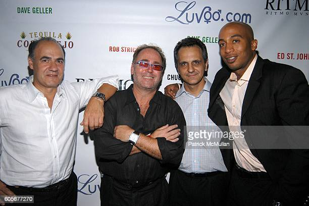 Manolo Barral Seth Kurgliak Ali Soltani and James Lesure attend Miss Universe Post Pageant VIP Party hosted by Chuck Nabit Dave Geller Ed St John...