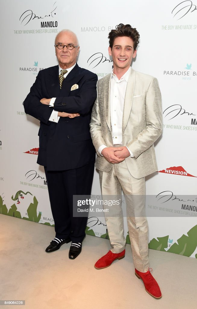 """""""Manolo - The Boy Who Made Shoes For Lizards"""" London Fashion Week screening"""