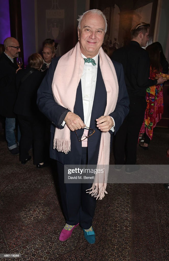 Alexandra Shulman Hosts A Party In Honour Of Lucinda Chambers