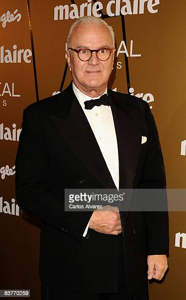 Manolo Blahnik attends Marie Claire Prix de la Mode 2008 awards at French Embassy on November 20 2008 in Madrid Spain