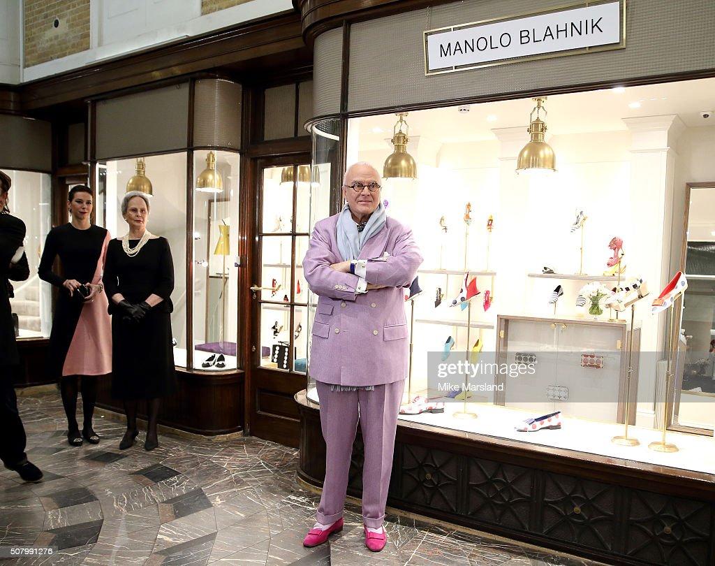 Manolo Blahnik Store Launch - Photocall