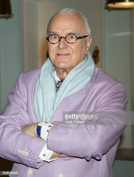 Manolo Blahnik attends The Store Launch at Burlington Arcade on February 2 2016 in London England