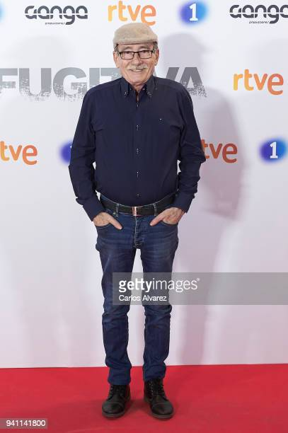 Manolo Cal attends 'Fugitiva' Tv Series at the Callao cinema on April 2 2018 in Madrid Spain