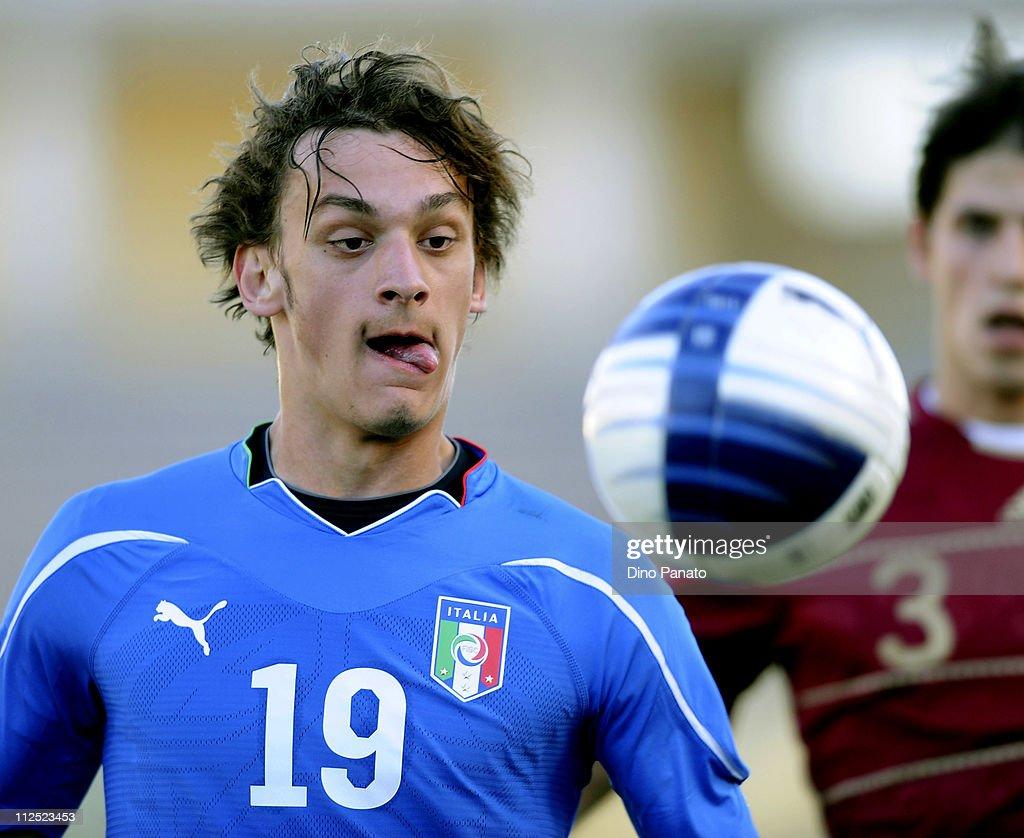 Italy U21 v Russia U21 - International Friendly : News Photo