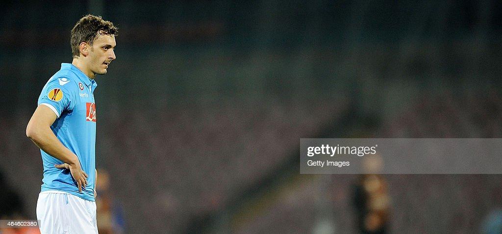 SSC Napoli v Trabzonspor AS - UEFA Europa League Round of 32 : News Photo