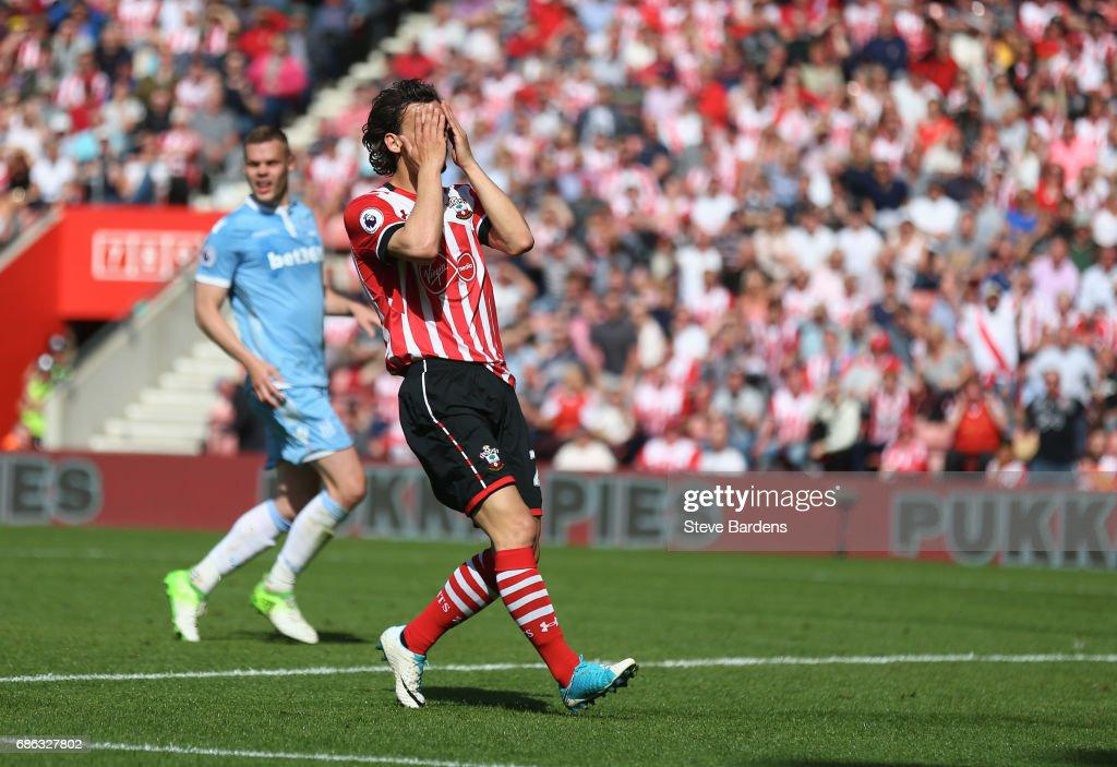 Southampton v Stoke City - Premier League : News Photo