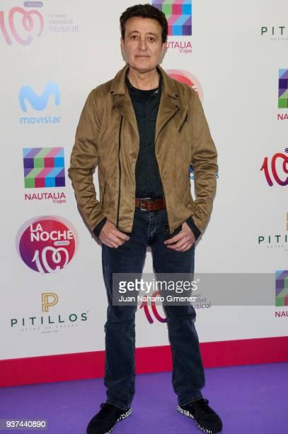Manolo Garcia attends 'La Noche De Cadena 100' charity concert at WiZink Center on March 24 2018 in Madrid Spain
