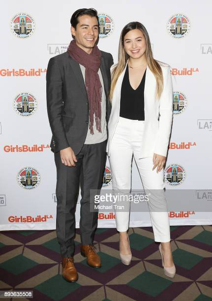 Manolo Gonzalez Vergara attends the LA Promise Fund's Girls Build Leadership Summit held at Los Angeles Convention Center on December 15 2017 in Los...