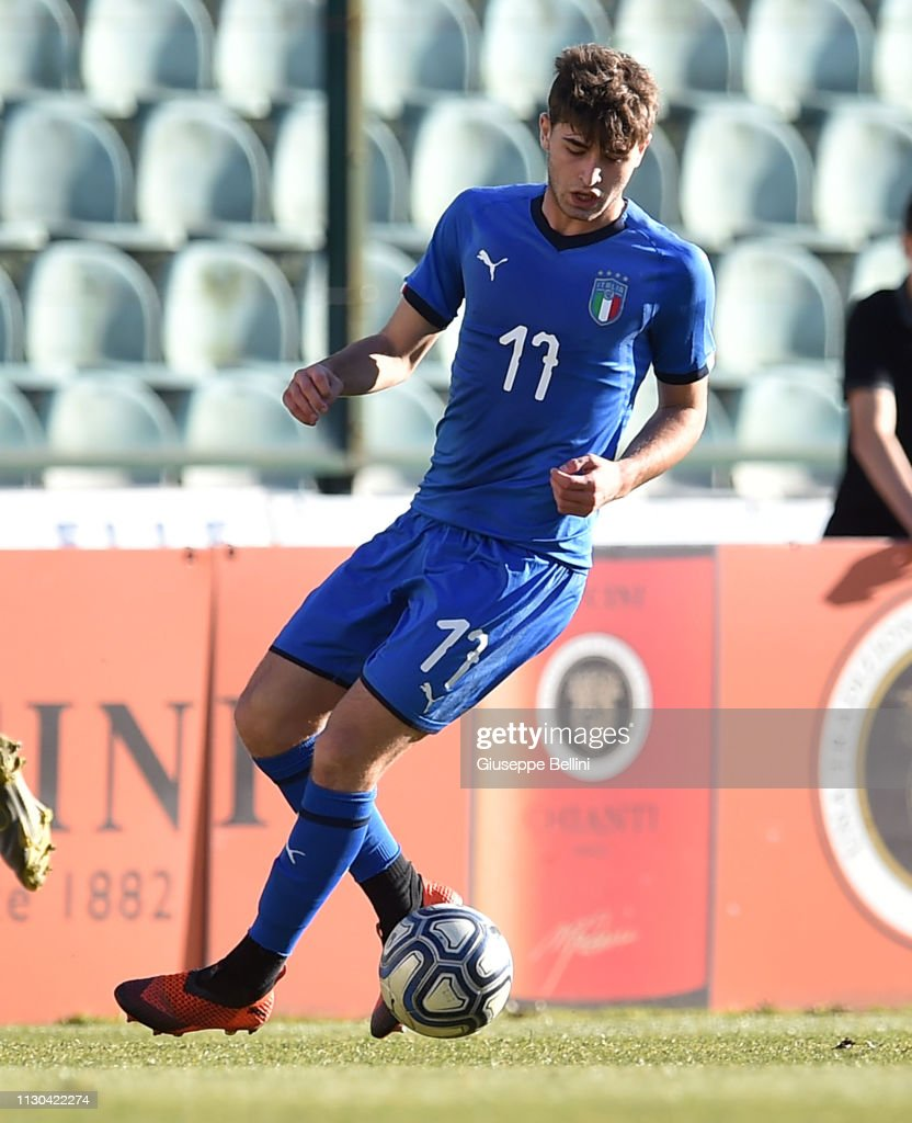 Manolo Portanova of Italy in action during the International Friendly...  News Photo - Getty Images