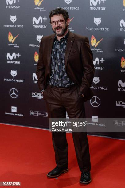 Manolo Solo attends Feroz Awards 2018 at Magarinos Complex on January 22 2018 in Madrid Spain