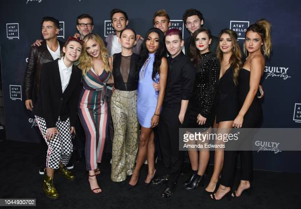 Manolo Vergara Connor Trinneer Gabriel Conte Sebastian Genta and Nick Fink Jessie Paege Audrey Whitby Alexis G Zall Teala Dunn Miles McKenna Tiffany...