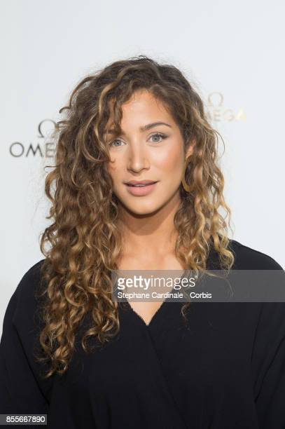 Manon Azem attends the 'Her Time' Omega Photocall as part of the Paris Fashion Week Womenswear Spring/Summer 2018 at on September 29 2017 in Paris...
